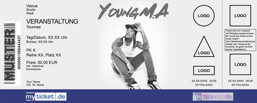 Young M.A Colorticket