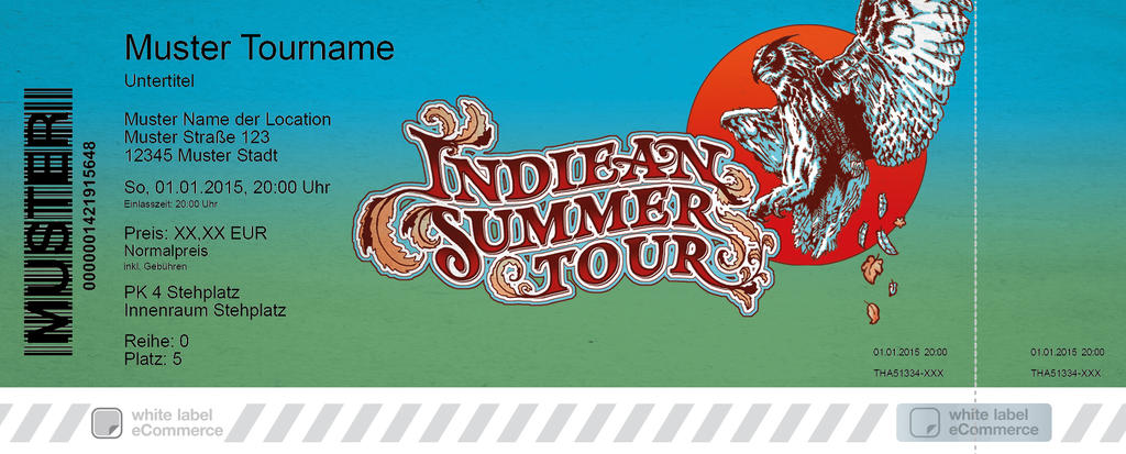 INDIEAN SUMMER TOUR Colorticket