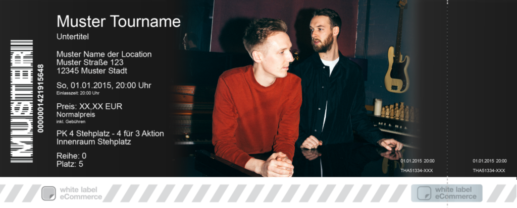 HONNE Colorticket