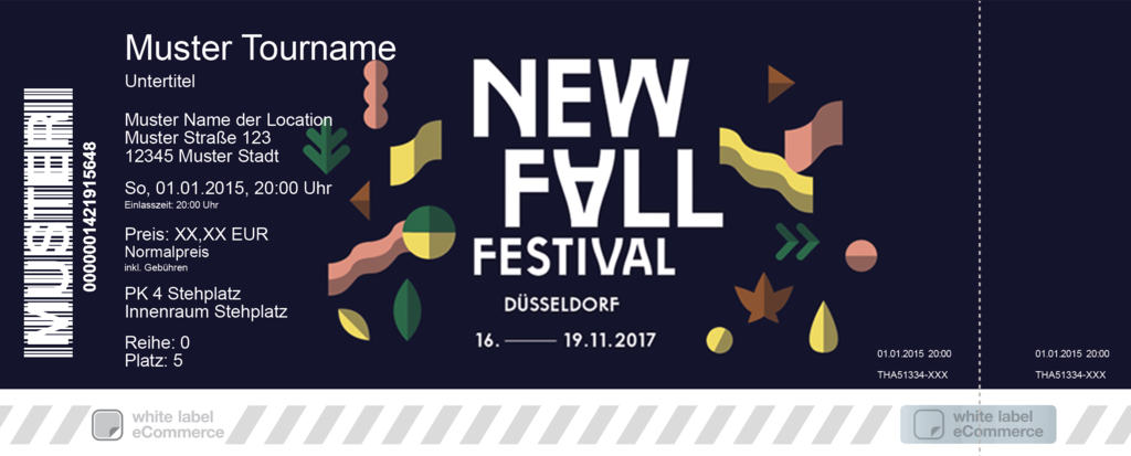New Fall Festival 2017 Colorticket