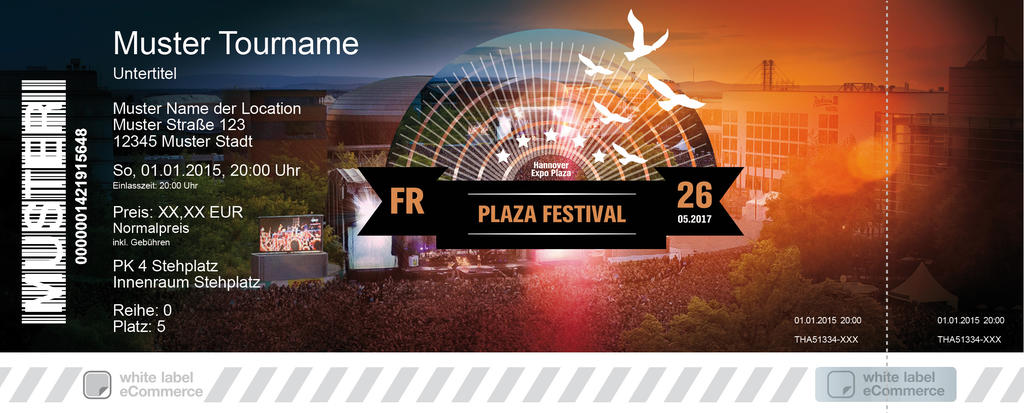 Plaza Festival Colorticket