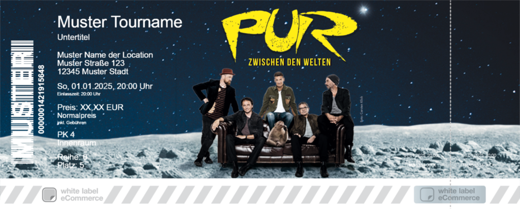 PUR Colorticket
