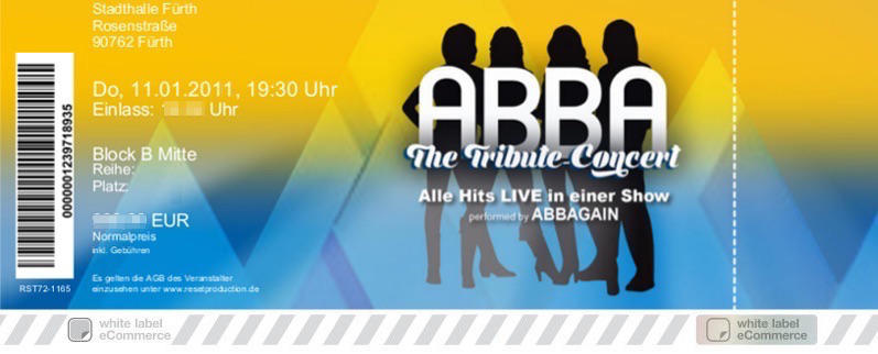 ABBA - The Tribute Concert  Colorticket