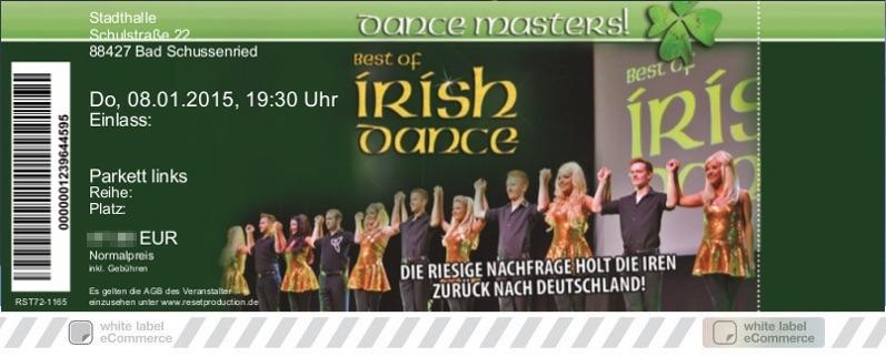 DANCE MASTERS! Colorticket