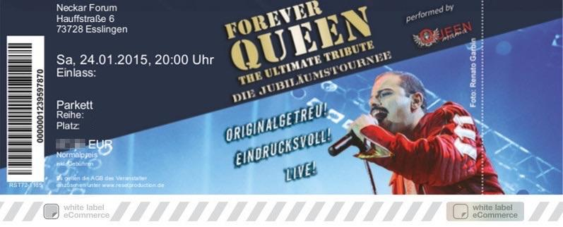FOREVER QUEEN Colorticket