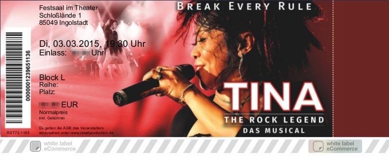 TINA The Rock Legend Colorticket