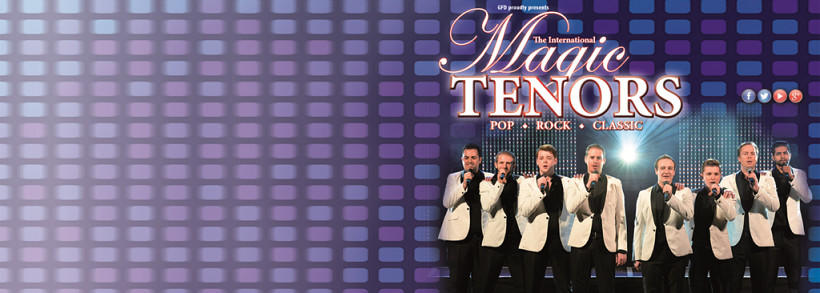 THE INTERNATIONAL MAGIC TENORS Colorticket
