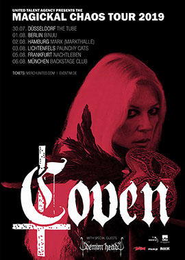 COVEN Tickets