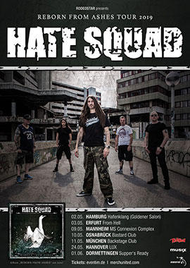 HATE SQUAD Tickets