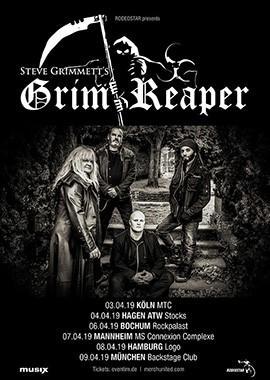 Steve Grimmett´s Grim Reaper Tickets