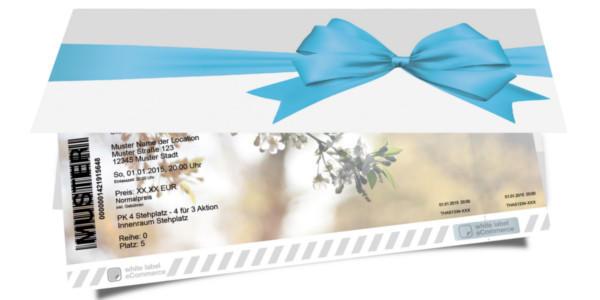 Geschenkverpackung Schleife