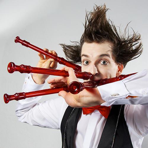 Gabor Vosteen - The Fluteman Show Tickets