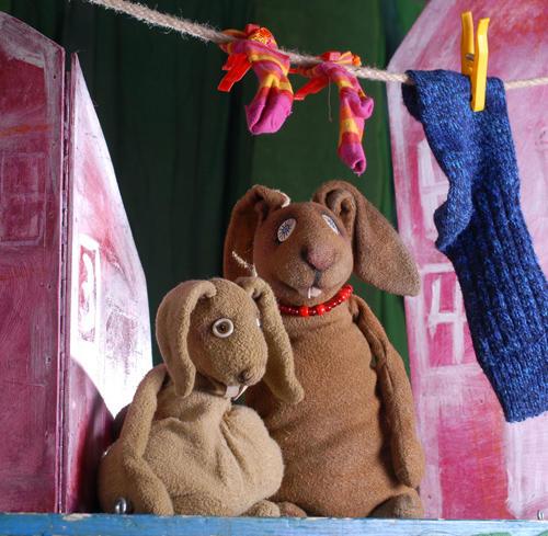 Figurentheater Petra Schuff - Der kleine Angsthase Tickets