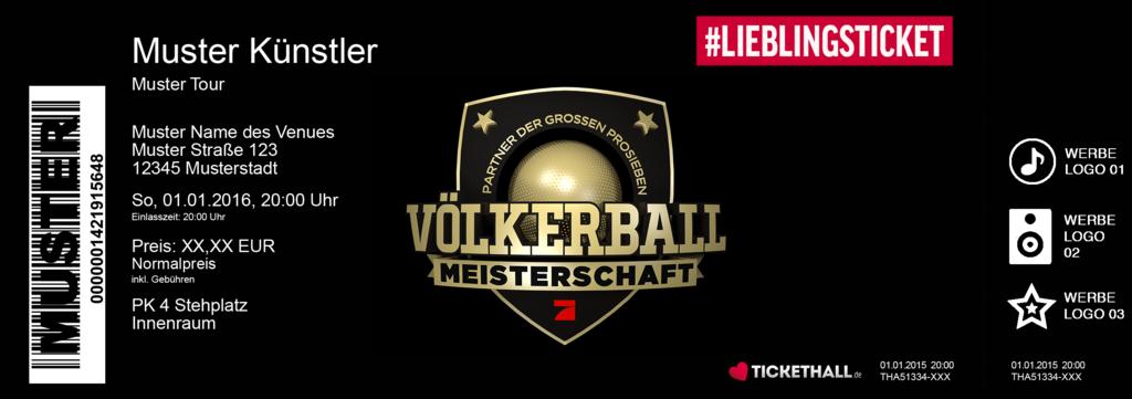 Die große ProSieben Völkerball-Meisterschaft Colorticket