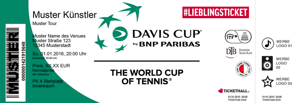 Davis Cup by BNP Paribas Colorticket