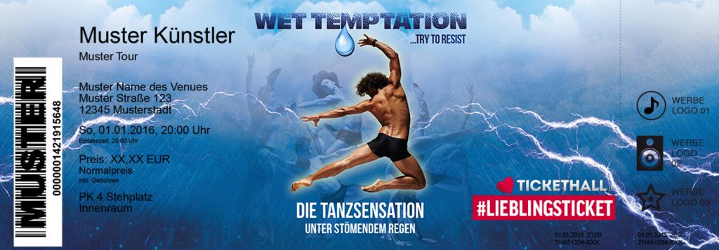 Wet Temptation Colorticket
