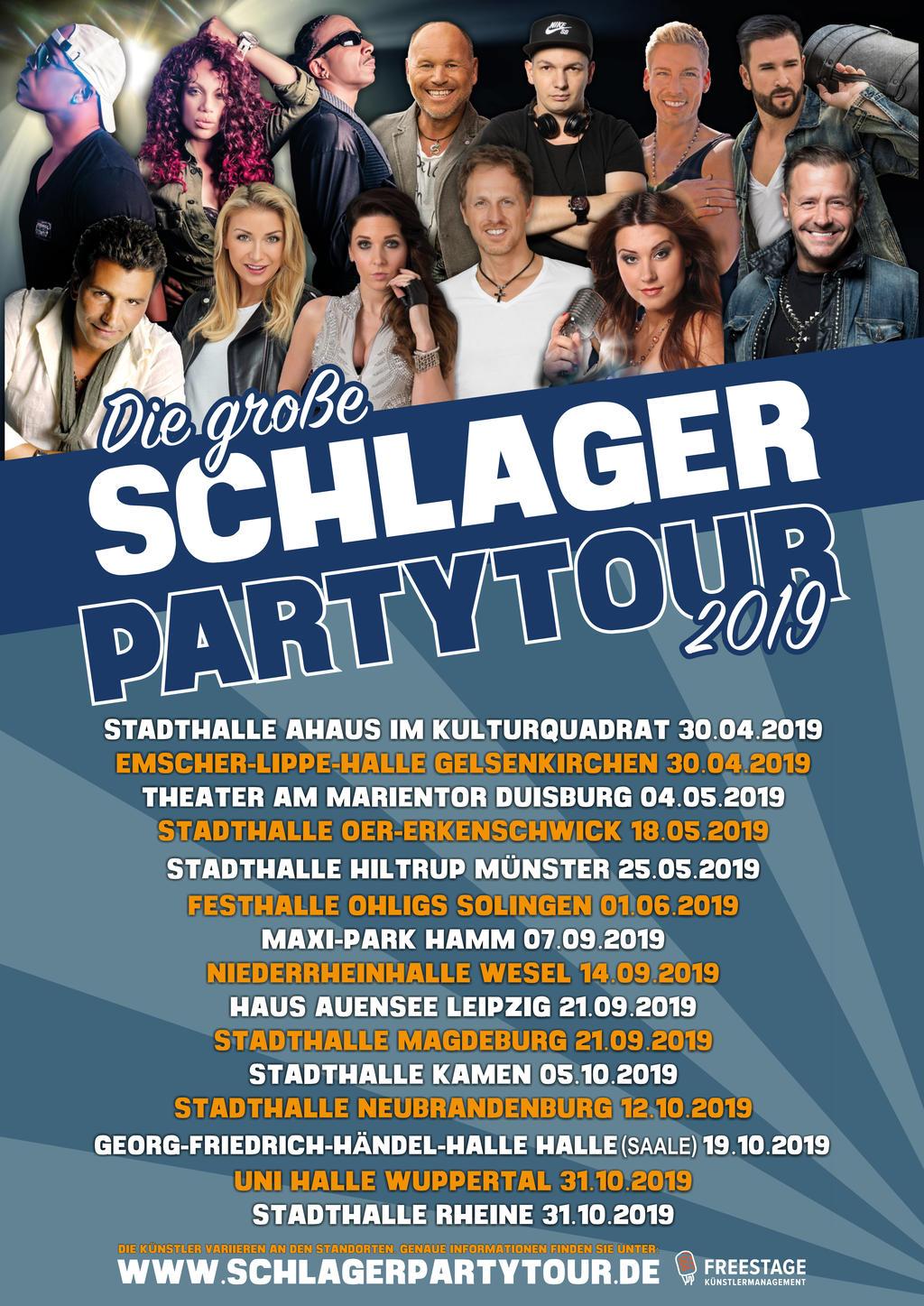 Die große Schlager Partytour 2019 Tickets