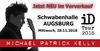 VVK Start: Michael Patrick Kelly in Augsburg am 28.11.2018