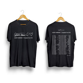 T-Shirt SongBook Tour 2016