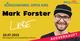 AUSVERKAUFT: Mark Forster in Füssen